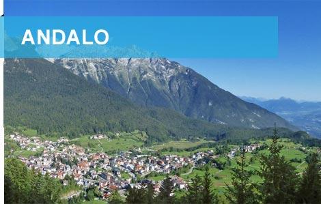 Panoramica di Andalo