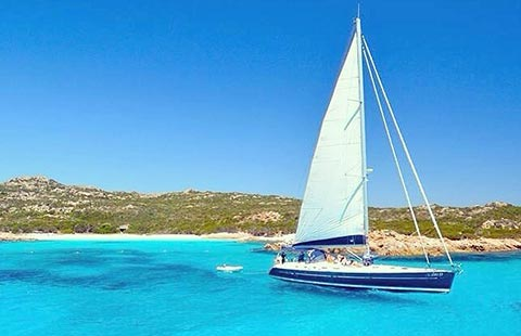 northeast Sardinia Maddalena Island