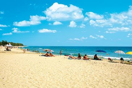 Spiaggia<br> di Ghisonaccia