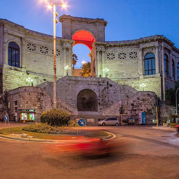 Cagliari Bastione Saint Remy