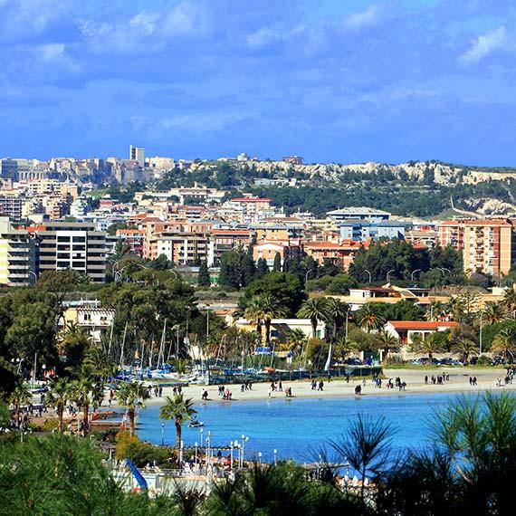 Panoramica di Cagliari